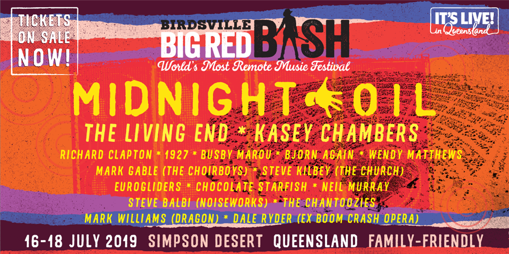 Big Red Bash Poster