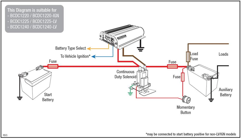 Wiring Diagram For Dual Battery System:  REDARC Electronics,Design