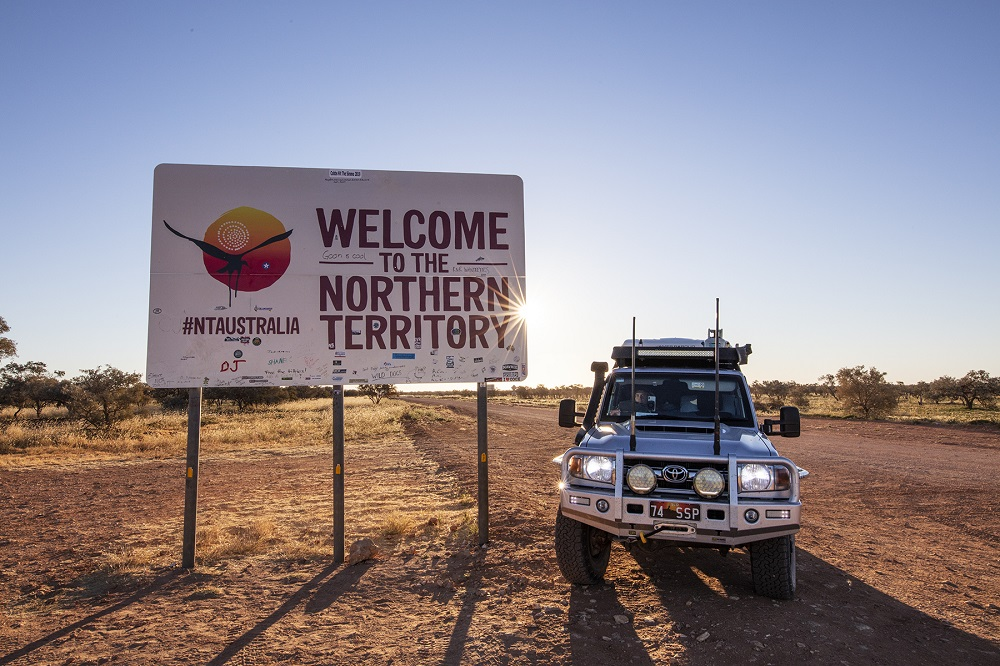 4WDing in the Northern Territory