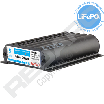 25A In-Vehicle LiFePO4 Battery Charger