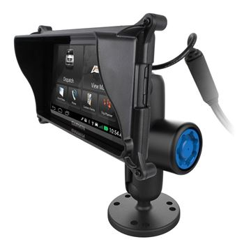 "Picture of RAM 1"" Ball Locking Mount, Pin-Lock™ Security Knob/Key Knob & Locking Case for Garmin"