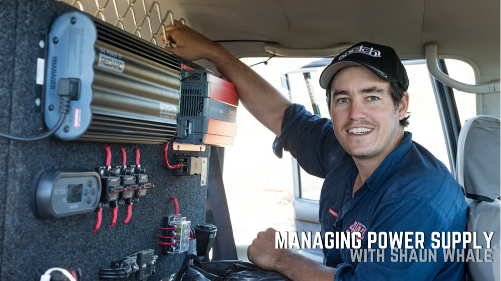 Managing Power Supply with Shaun Whale