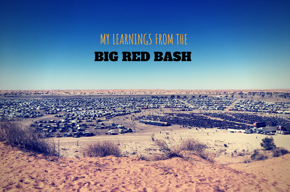 My learnings from the Big Red Bash