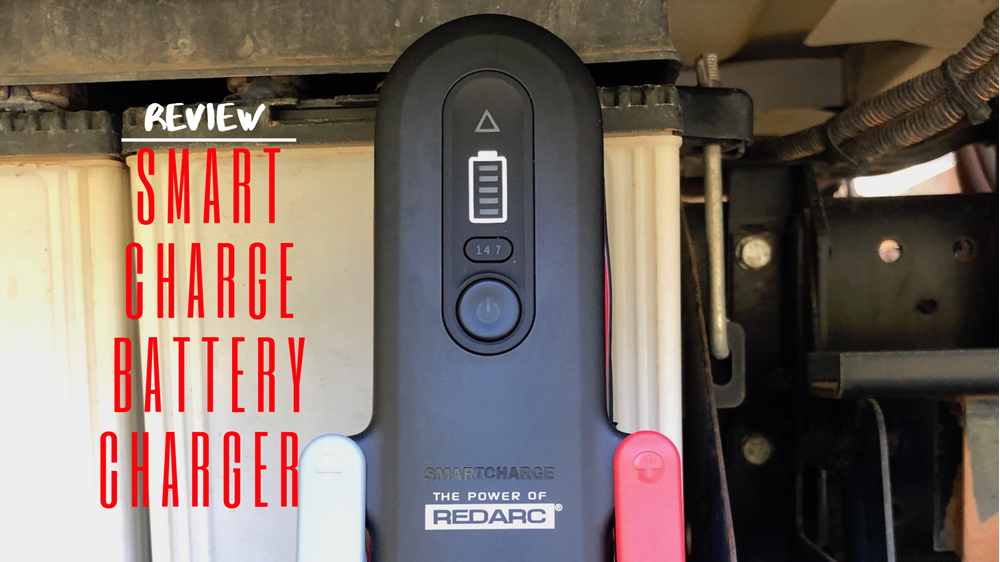 Review: REDARC 10A SmartCharge AC Battery Charger