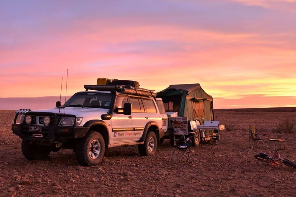 Retrofitting a Nissan Patrol for offroad travel
