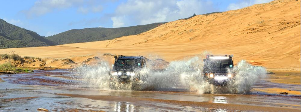 Top 5 4WD Destinations in New Zealand's North Island