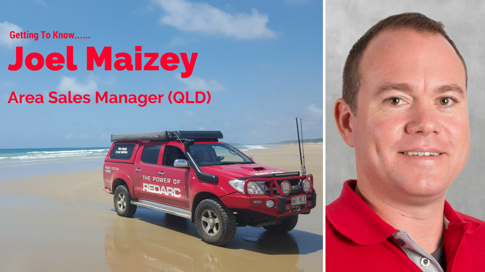 Getting To Know Your Area Sales Managers: Joel Maizey (QLD)