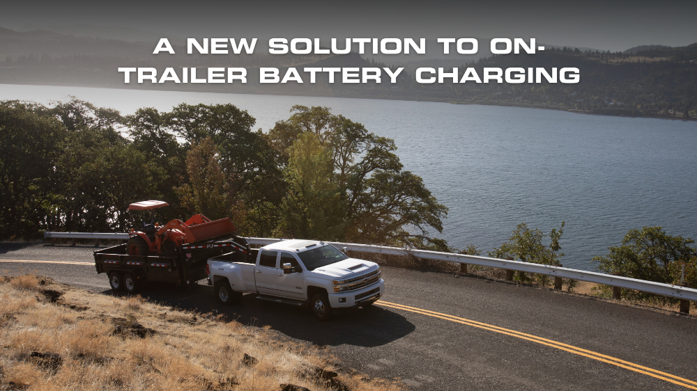 A new solution to on-trailer battery charging
