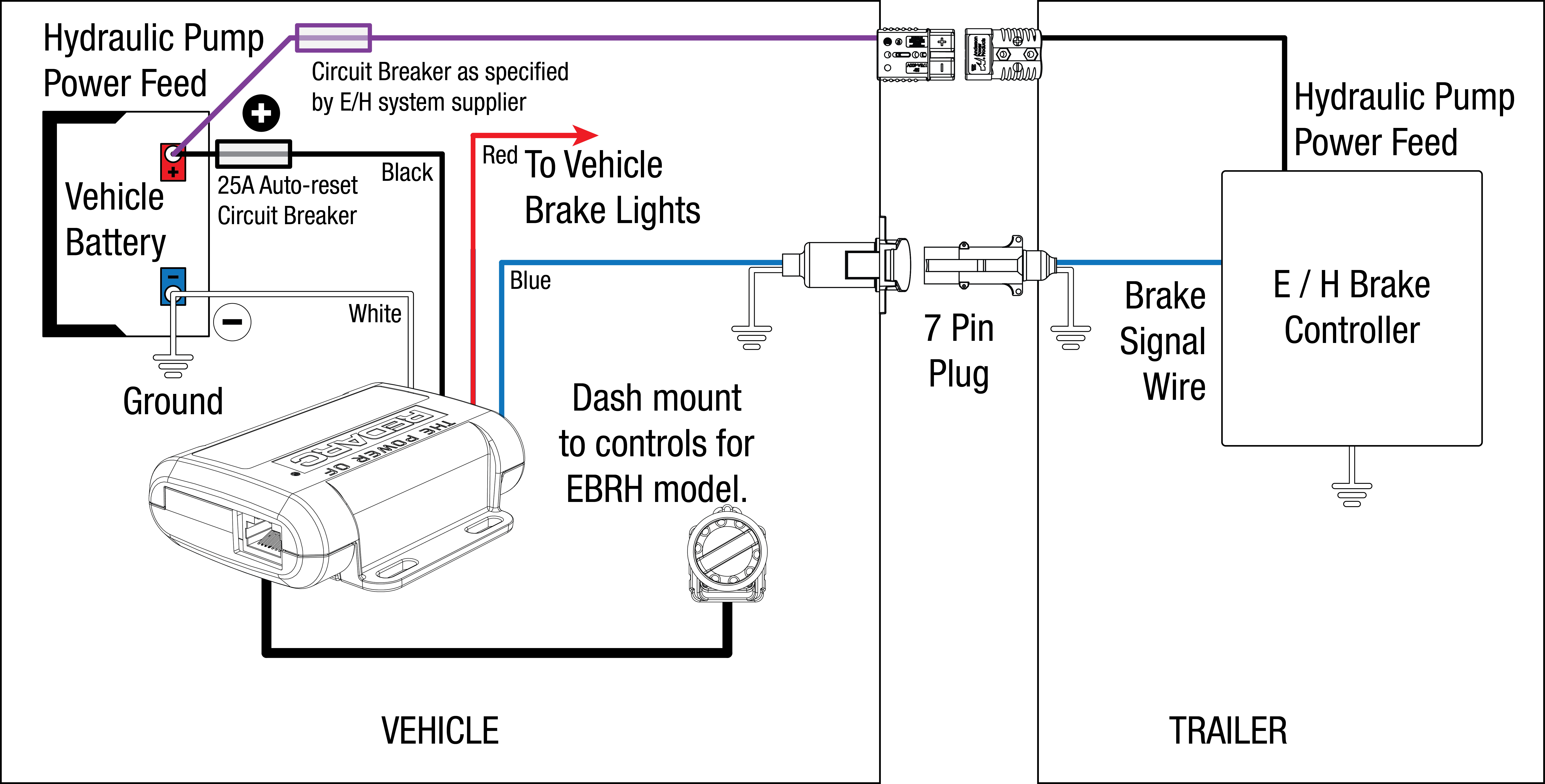 Tow Pro Eh Installation on Tekonsha Voyager Brake Wiring Diagram